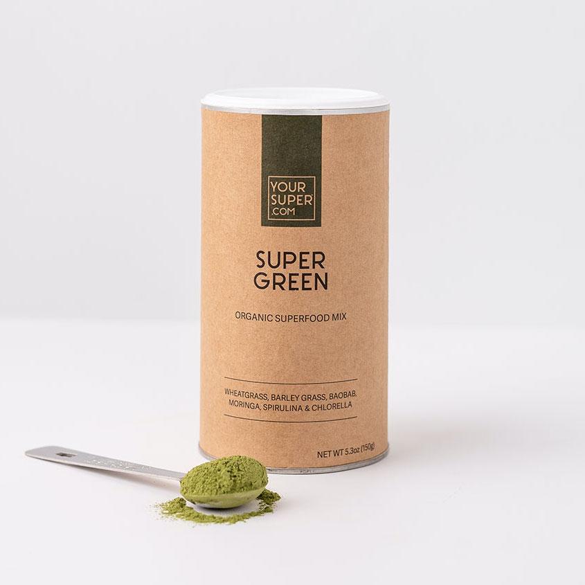 Žaliasis mišinys SUPERGREEN 150g