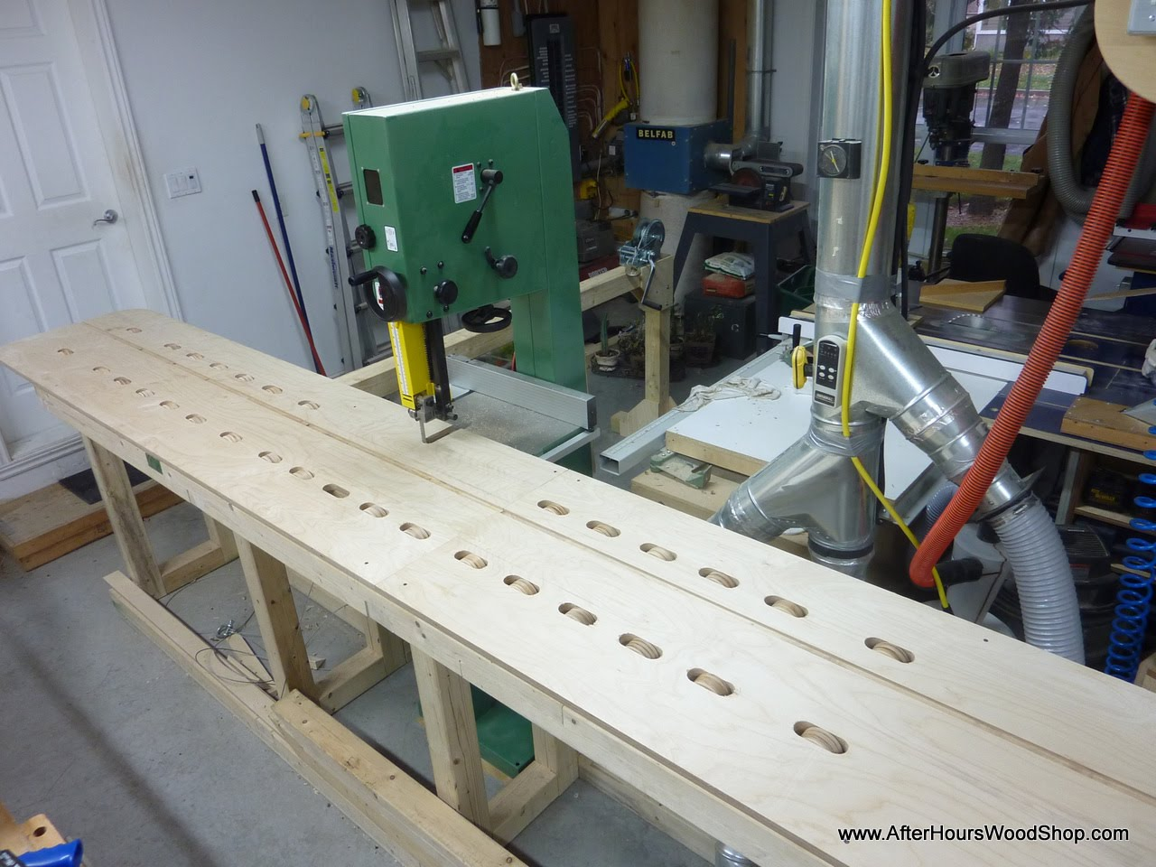 Bandsaw Sled For Cross Cutting Logs