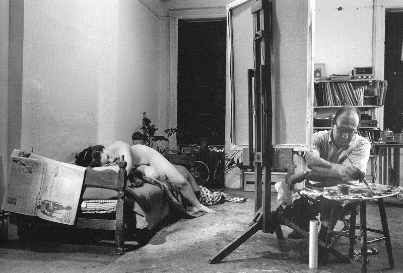 John Loengard Philip Pearlstein