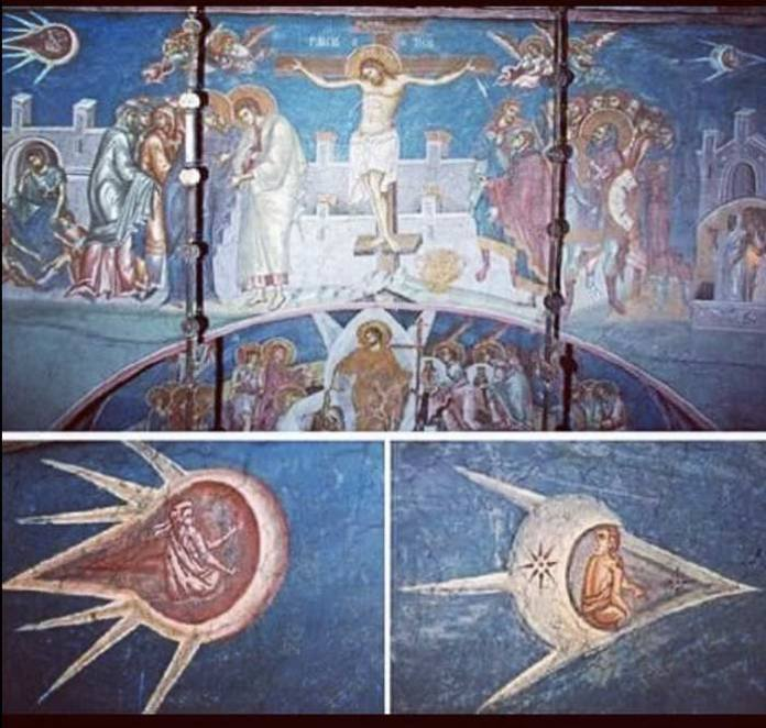 "Ufo nell'arte - ""The Crucifixion of Christ"""