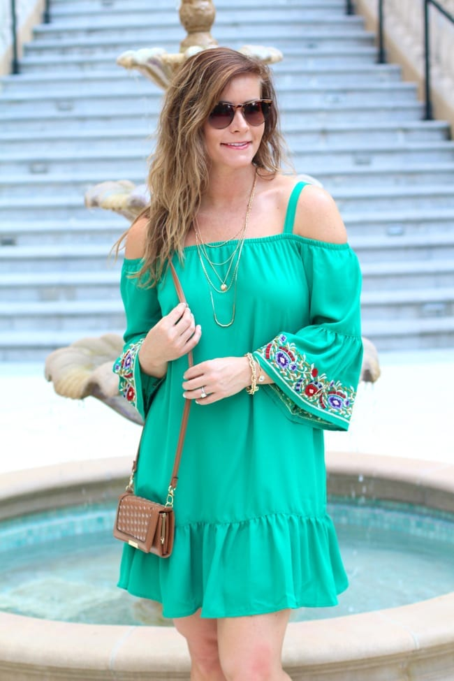 Grand Cayman Outfit, beachwear, Off the shoulder