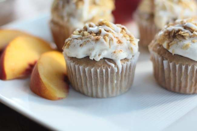 tPeach, Peach Cobbler, Recipes, Cupcakes
