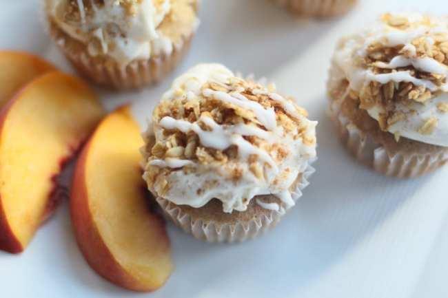 Peach, Peach Cobbler, Recipes, Cupcakes