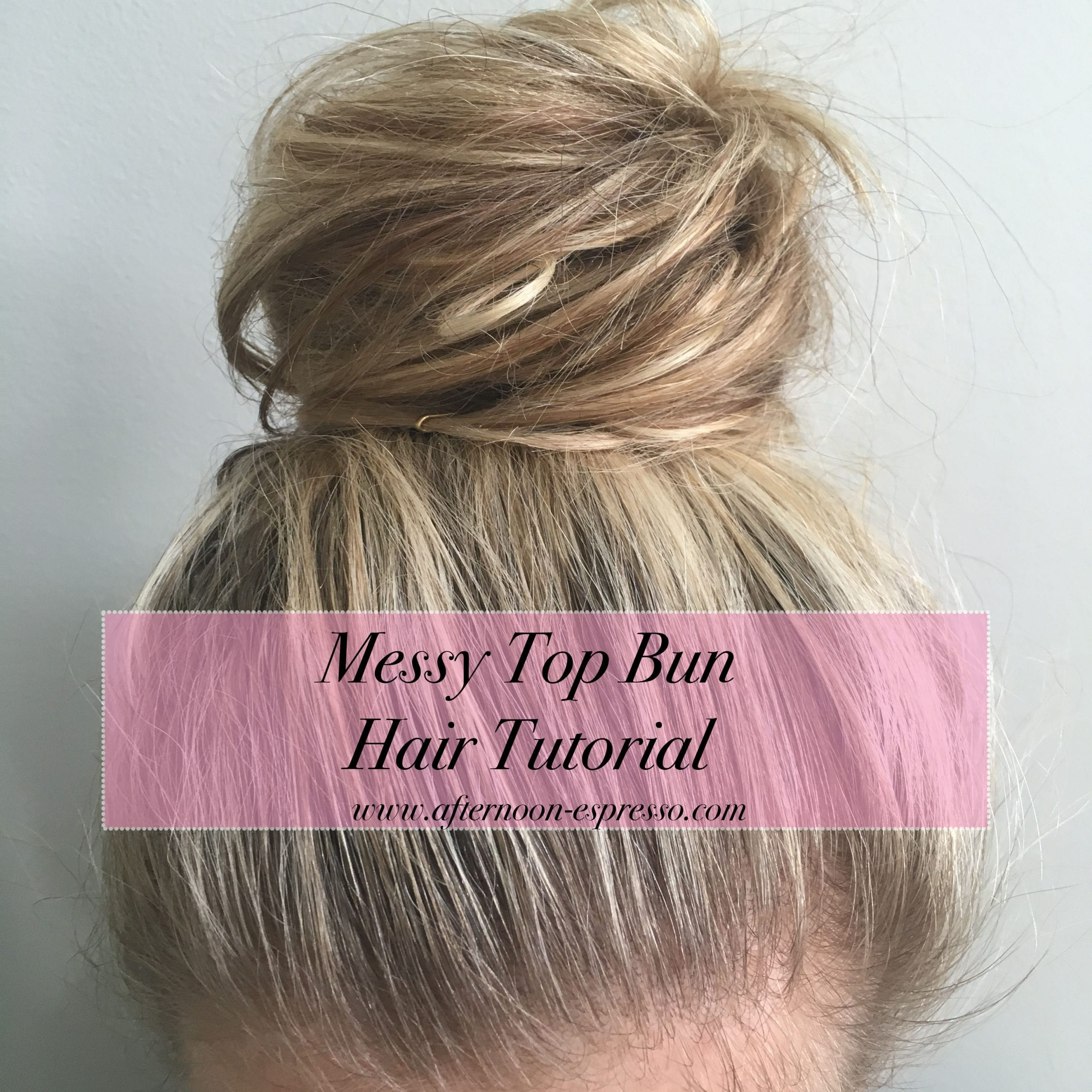 14 simple hair bun tutorial to keep you look chic in lazy days.
