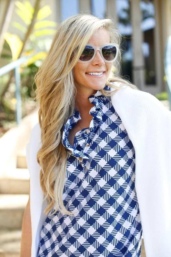 gingham dress-Maui-Vacation-Travel-Hawaii-Poshture-Boutique-Blogger-Chloe Bag-2
