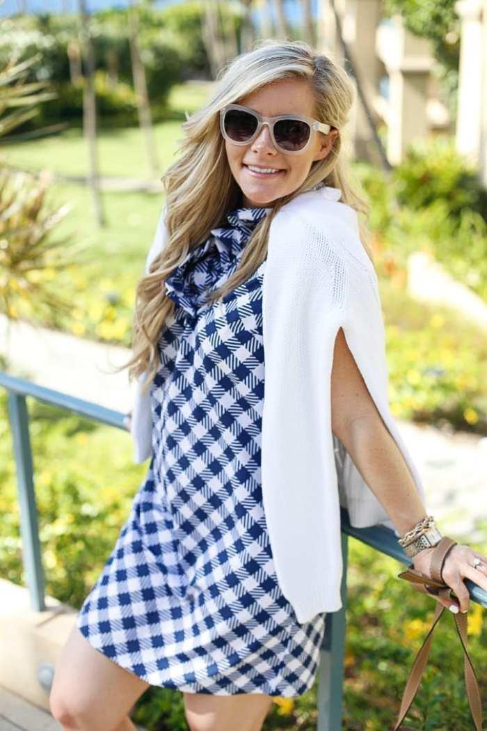 gingham dress-Maui-Vacation-Travel-Hawaii-Poshture-Boutique-Blogger-Chloe Bag-6