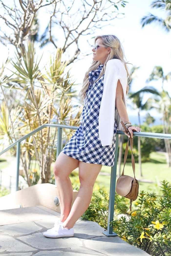 gingham dress-Maui-Vacation-Travel-Hawaii-Poshture-Boutique-Blogger-Chloe Bag-7