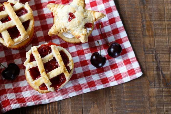 Festive American Pie Cupcake Recipe for Fourth of July