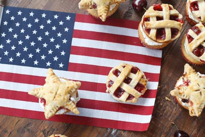 American Pie Cupcake - Miss American Pie - American-Pie-Cupcakes-Recipe-Americana-Fourth of July-38