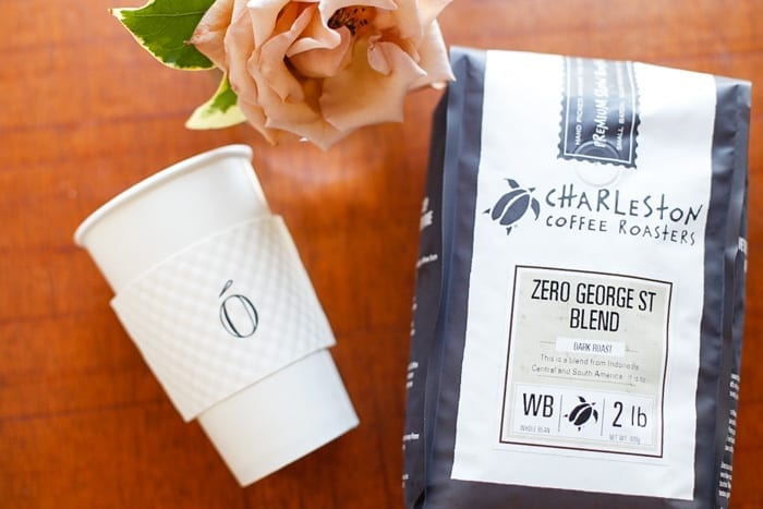 Blogger and coffee enthusiast Ashley Pletcher, raved over Zero George's house blend coffee.