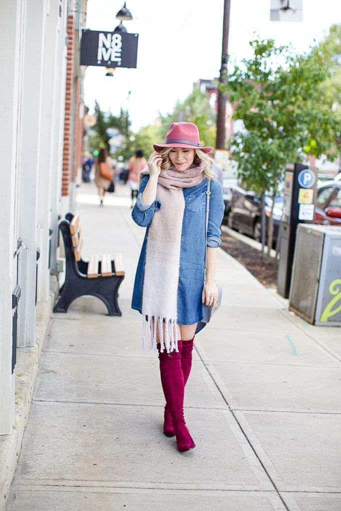 Bundled Up In Fall With The Classics Hats Scarves And