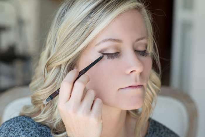 Blogger, Ashley Pletcher swears by Sephora Eyeliner for her Fall make up routine.