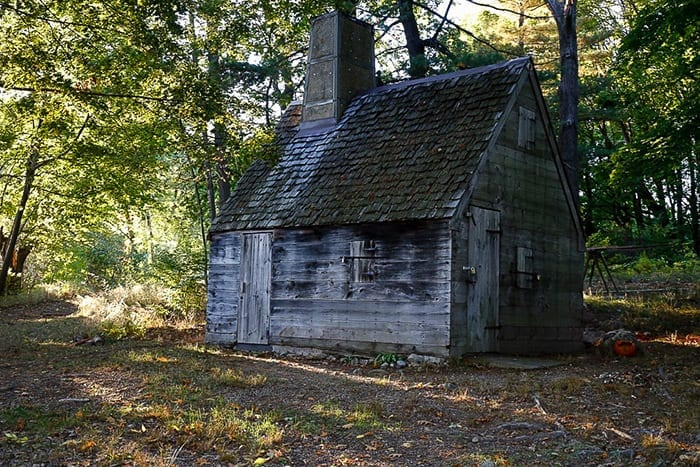 Old Pioneer Village is the location of Thackery Binx's home in the movie Hocus Pocus.