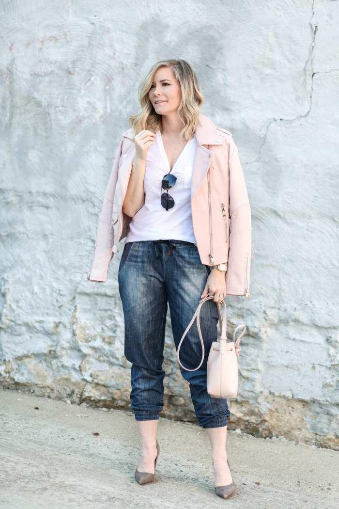 BLANK NYC - Blush- Athleisure- Kate Spade Pumps- Afternoon Espresso- Fashion- Ashley Pletcher- Joggers- avitators