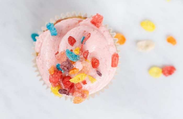Fruity Pebble Cupcake Recipe - Afternoon Espresso- Blogger- Foodie