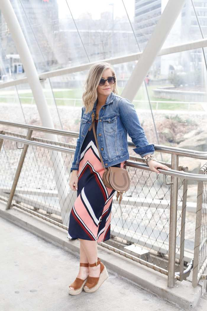 Target Slip Dress - Spring Fashion - Chloe Crossbody Bag - SEE Eyewear