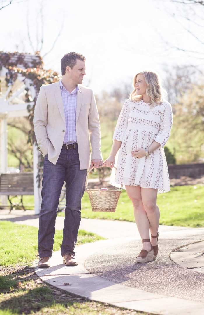 Gender Reveal- Baby Girl - Easter Outfit