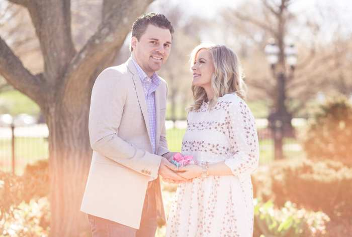 Gender Reveal- Baby Girl - Easter Outfit- Couples- Photos