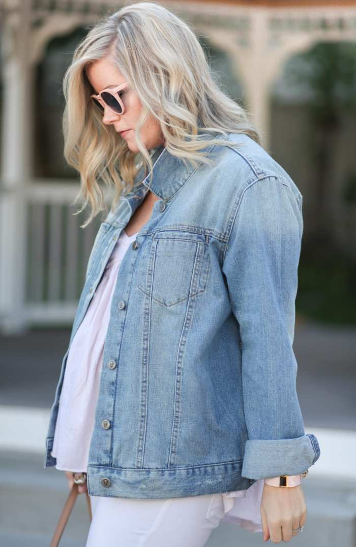 Fashion Blogger- Maternity Fashion - 5 Summer Essentials- Ashley Pletcher- Afternoon Espresso- Anthropologie Denim