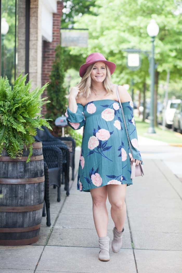 Ashley Pletcher -Billabong Dress - Sam Edelman Booties - Fall Fashion