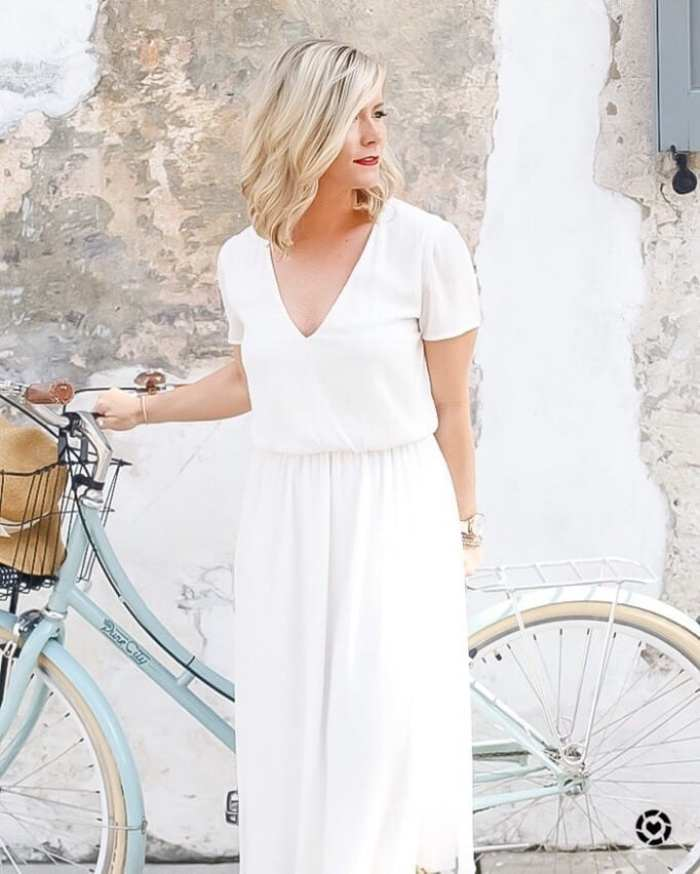 Ashley Pletcher- Wayf dress- Instagram- Blogger