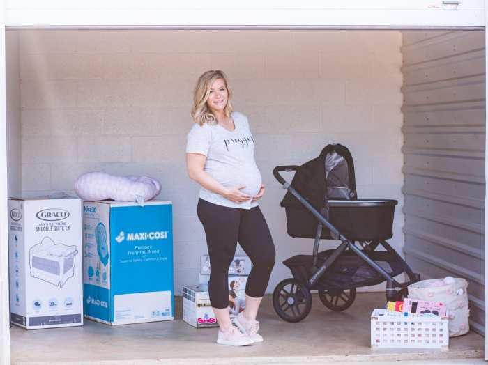 5 stress free ways to prepare for your new baby's arrival- Guardian Storage Unit- Cranberry- Pittsburgh