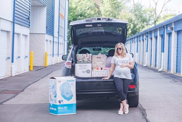 5 stress free ways to prepare for your new baby's arrival- Guardian Storage Unit