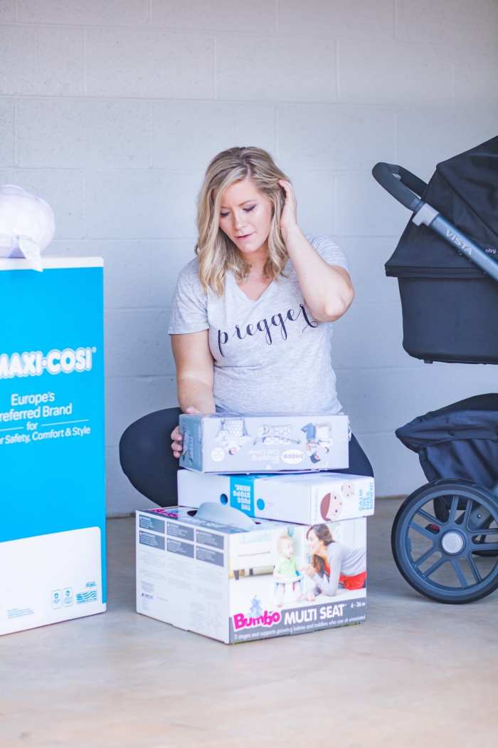 5 stress free ways to prepare for your new baby's arrival- Preggers Tee - Guardian Storage- Pittsburgh