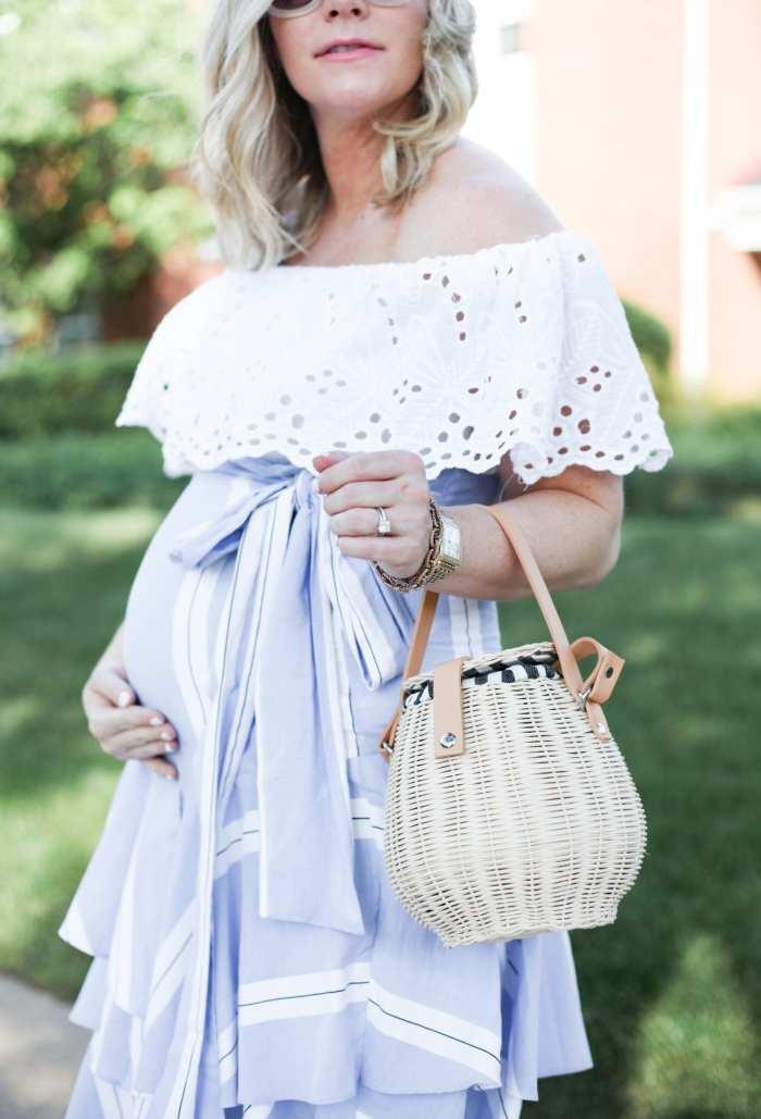 Ashley Pletcher - mom blog -afternoon espresso - ruffle trends - zara handbag