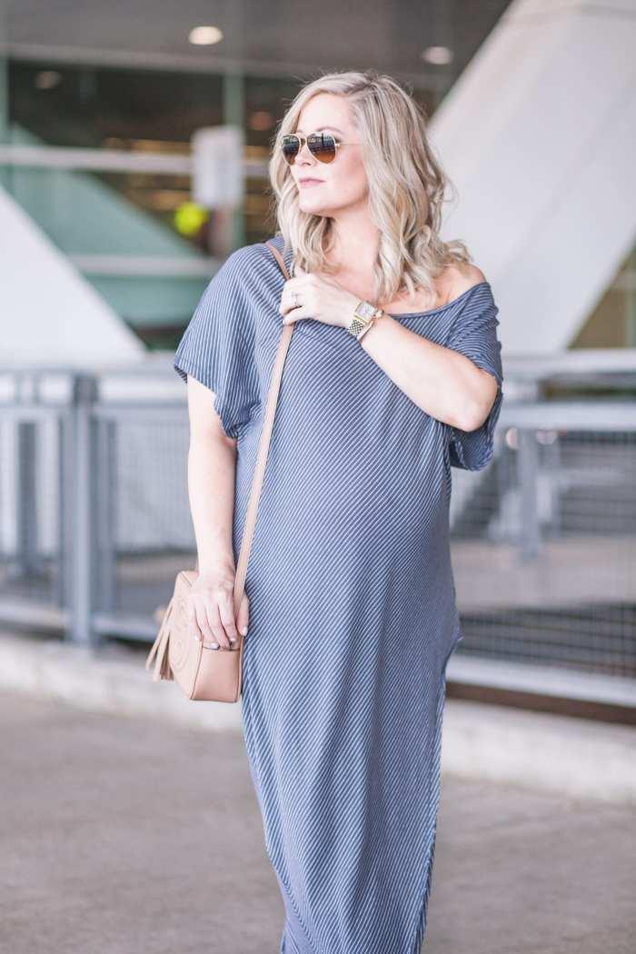 Free People Summer Maxi Dress- Maternity Fashion