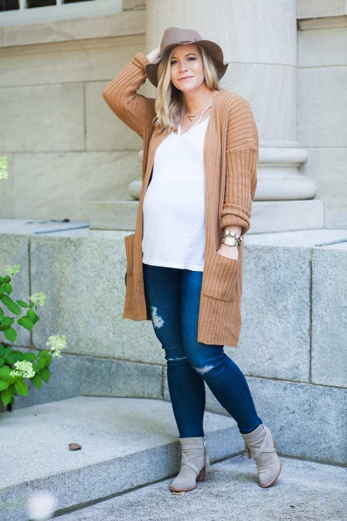 Ashley Pletcher - blogger - fashion blogger - BP Cardigan - Sam Edelman bootie - Nordstrom - Nordstrom anniversary sale- Fall Uniform