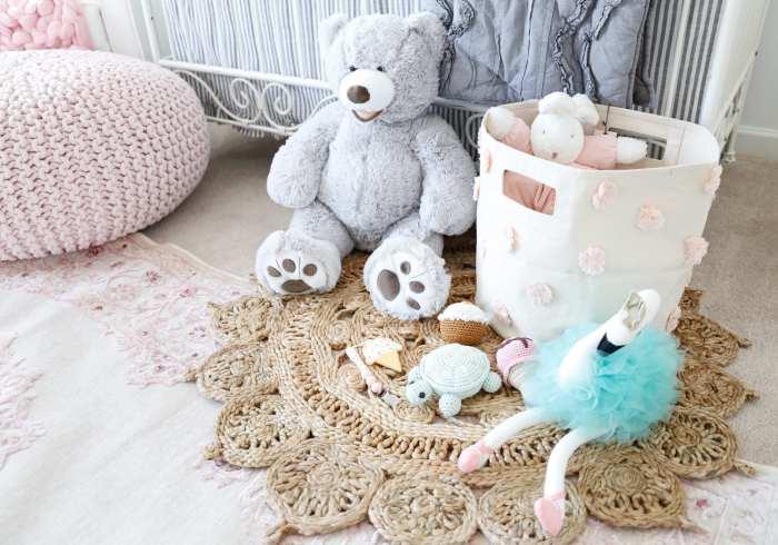 The Baby Cubby Toys - Storage Bin- Nursery Decoration