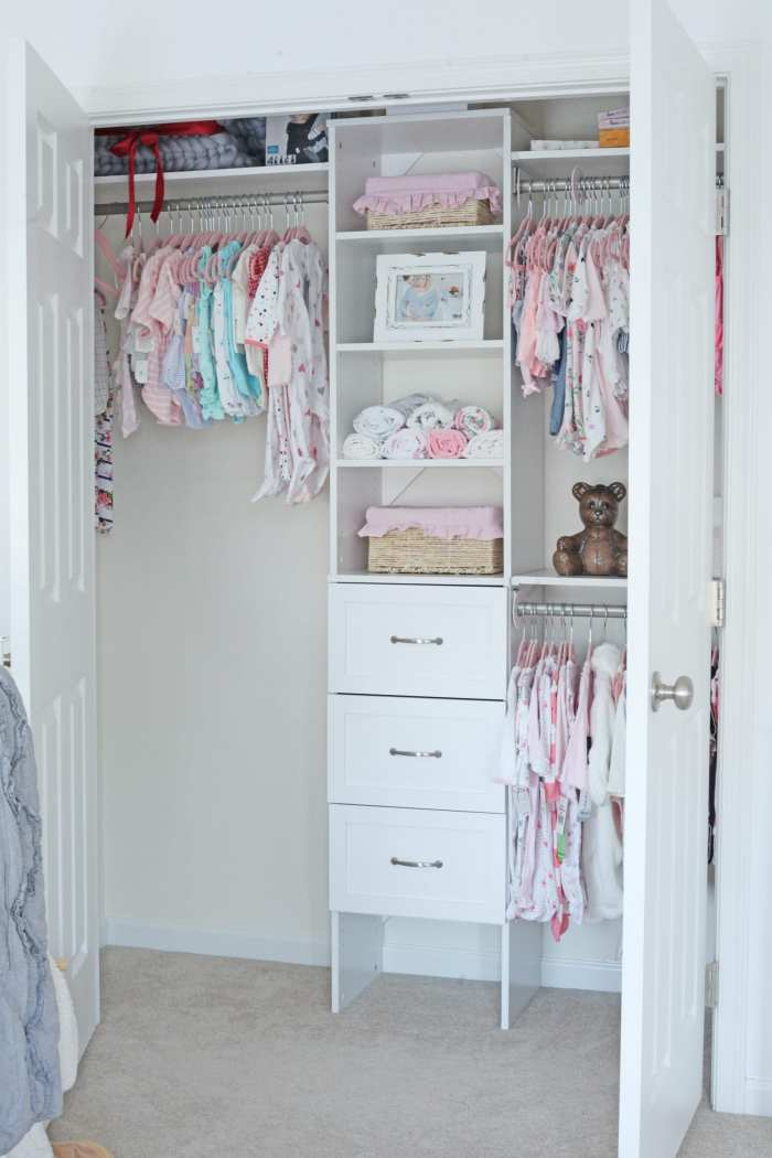 Closet Maid Organizer - Baby Nursery- Nursery Decoration