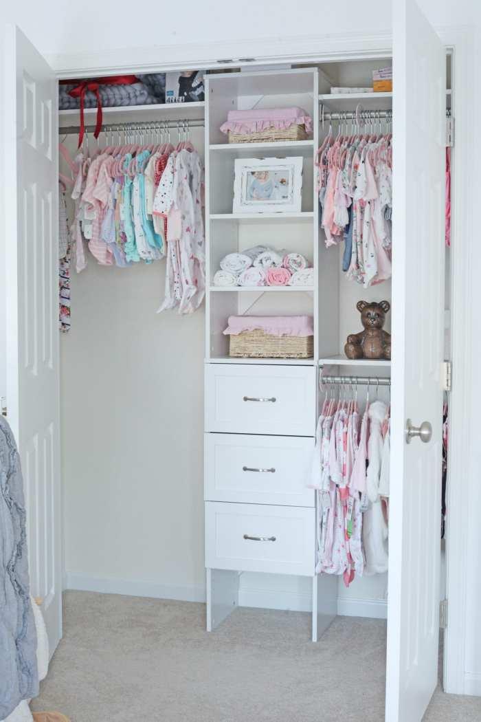Closet Maid Organizer - Baby Nursery- Nursery Decoration