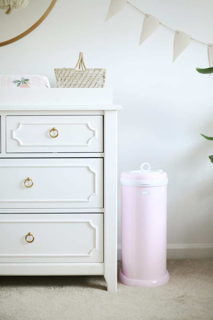 Ubbi Diaper Pail - Nursery Decoration