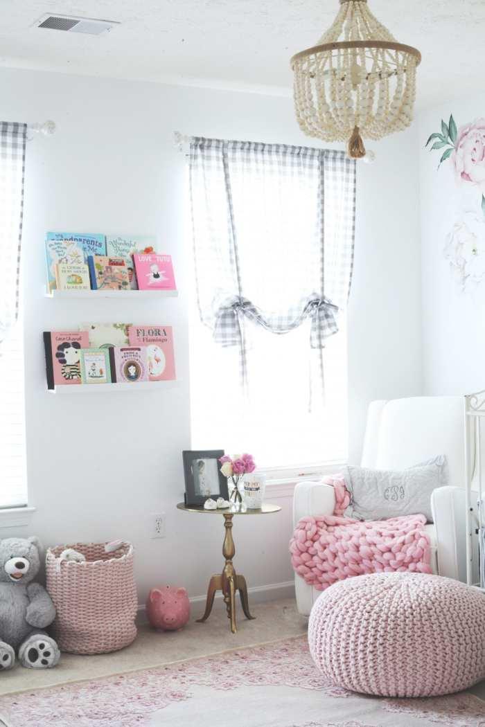 Pottery Barn Dahla Chandelier - Nursery Decoration - Girl Nursery