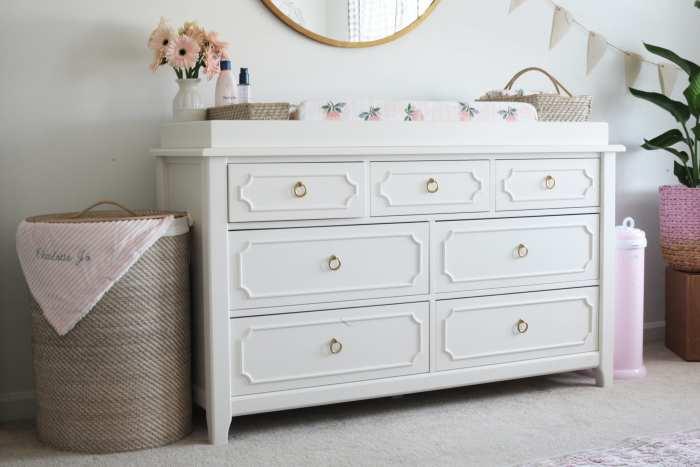 Pottery Barn Ava Regency Dresser - Nursery Decoration