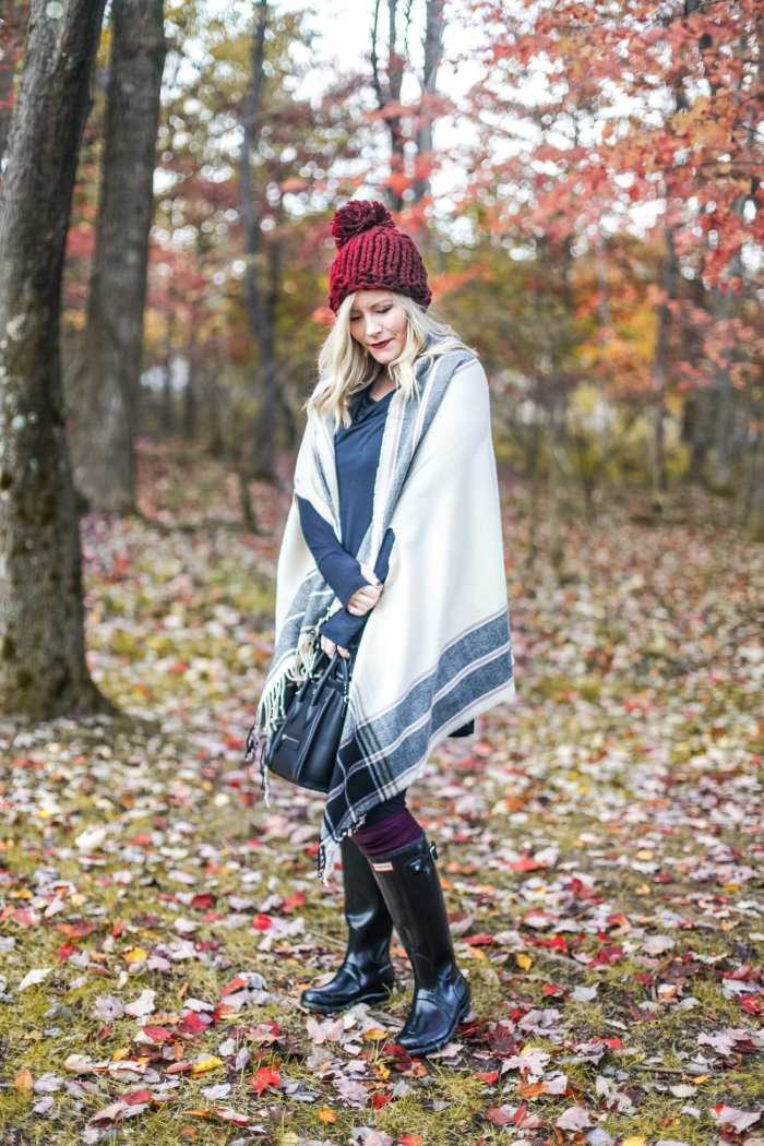 Layer- Cuddl Duds- Fall Fashion-Macys- Poncho