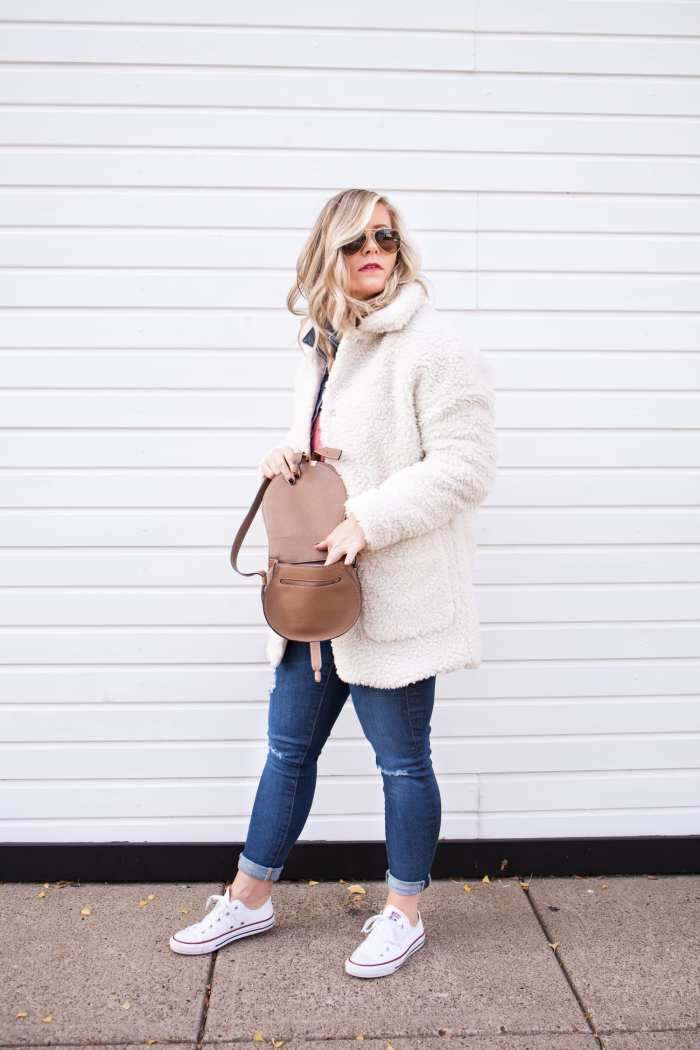 Teddy Bear Coat - Early Black Friday Deals- H&M - Sale Roundup