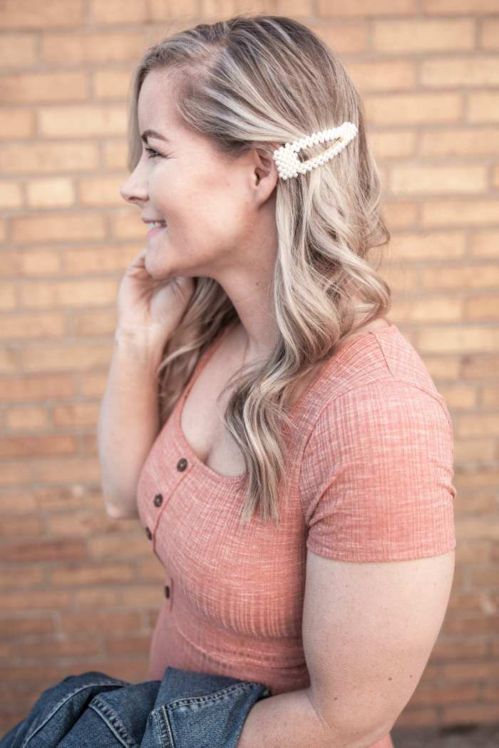 Classic Jewelry- Pearl Hair Clip - Pittsburgh Blogger