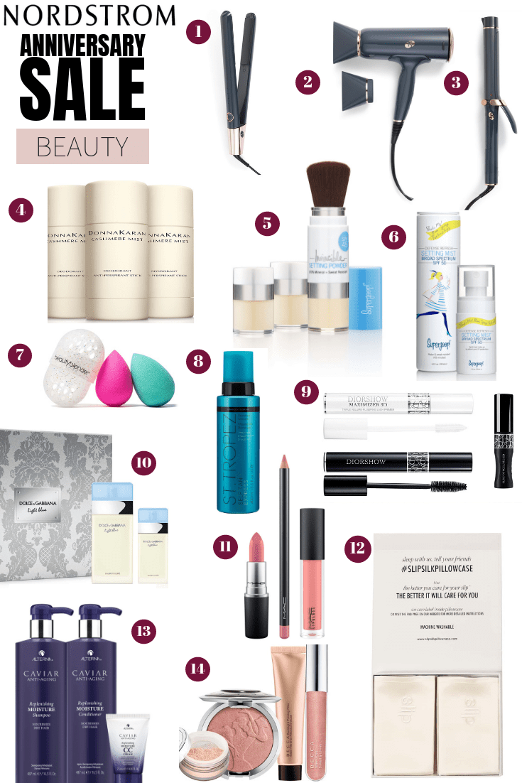 Top Beauty Products from the 2019 Nordstrom Anniversary Sale