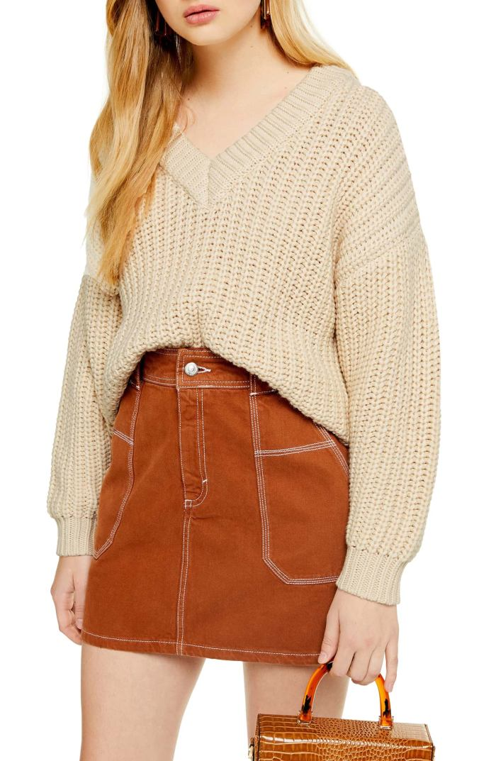 oversize v-neck sweater- Nordstrom Anniversary Sale - Fall Staple - Fall Sweaters