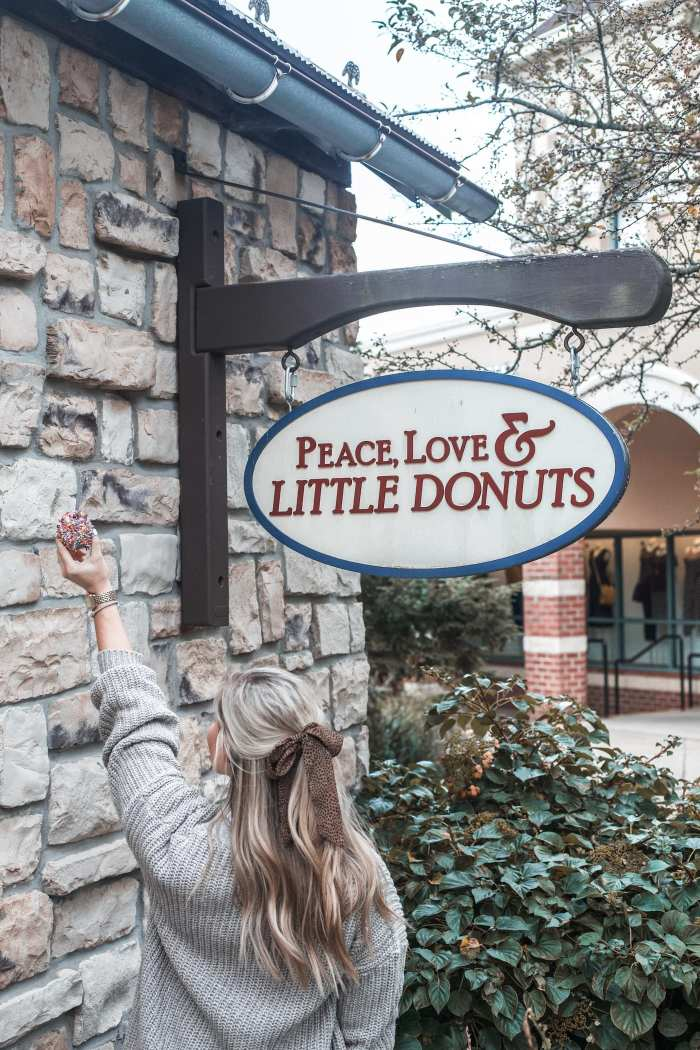 Fall Ready- Grove City Premium Outlets - Pittsburgh Shopping- Peace Love and Little Donuts