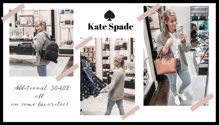 Fall Ready- Grove City Premium Outlets - Pittsburgh Shopping- Kate Spade - Fall Sale