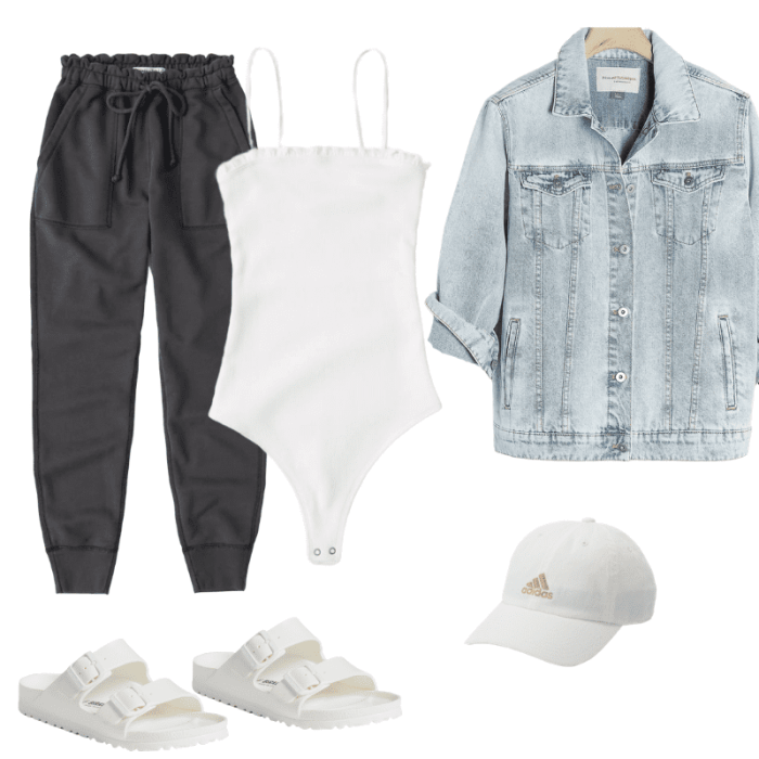Summer look- Afternoon espresso summer staples- covid summer- joggers