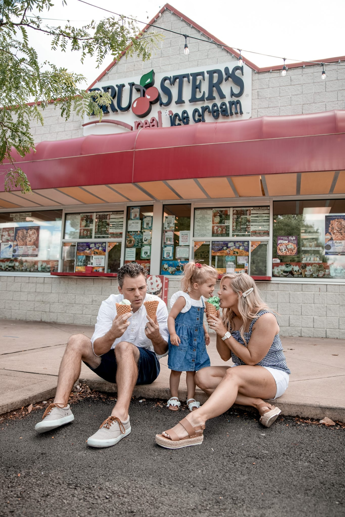 Making Life's Special Moments Sweeter with Brusters Real Ice Cream!