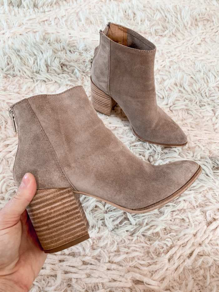 Anniversary Sale- Closet Staple Items- Fall Sale- Ashley Pletcher- Marc Fisher LTD Oshay Pointed Toe Bootie