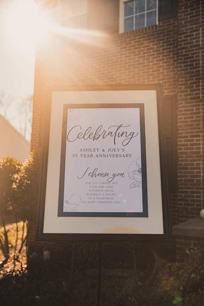 Oh JoyFul Day- Wedding Invitation- Wedding Stationary - Pittsburgh It was always you- Burgh Brides- 10th anniversary party