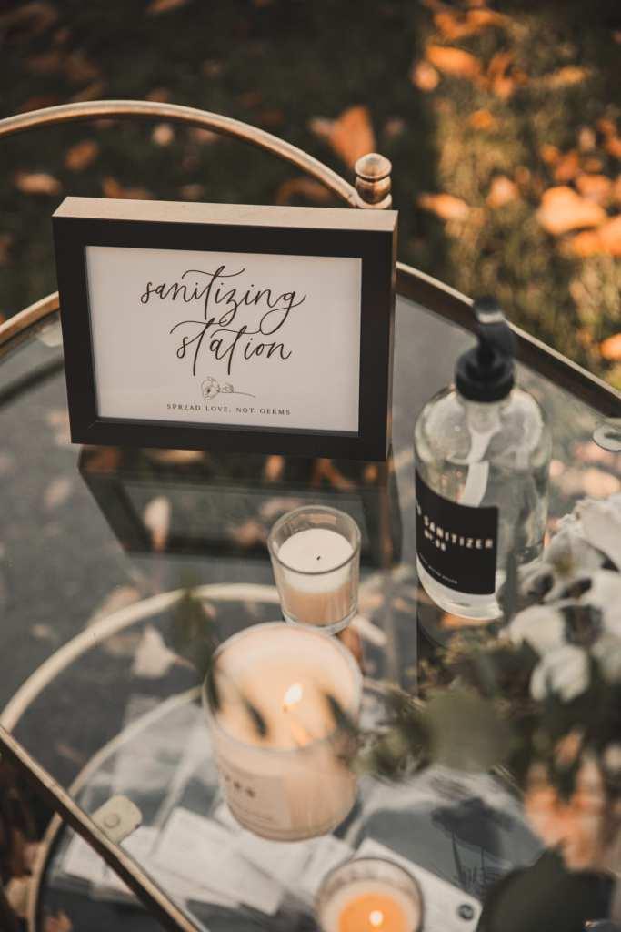 Oh JoyFul Day- Wedding Invitation-Burgh Brides- Wedding Stationary - Pittsburgh - Covid wedding- Covid precautions- sanitizing atation