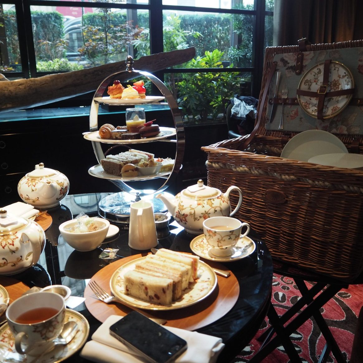 Four Seasons Park Lane London - Afternoon Tea
